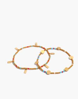 Two-Pack Beaded Bracelets