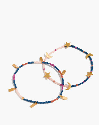 Two-Pack Beaded Bracelets