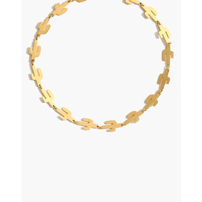 Cactus Link Necklace
