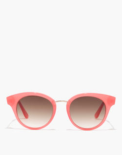 J.Crew Seaside Round Cat-Eye Sunglasses