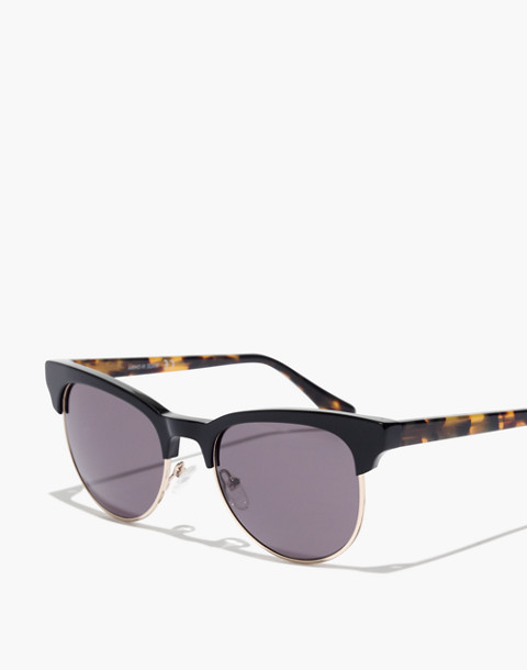 J.Crew Boardwalk Sunglasses in black tort image 2