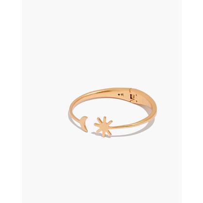 Sun and Cactus Cuff Bracelet