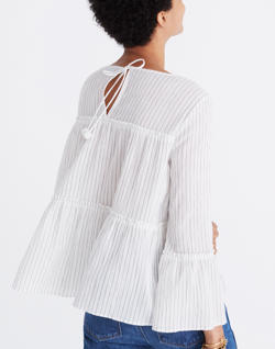 Tiered Top in Haysboro Stripe