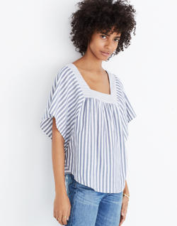 Butterfly Top in Stripe Play