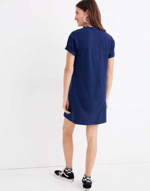 Pocket Tee Dress in nightfall image 3