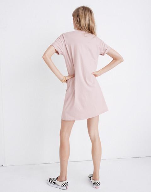 Pocket Tee Dress in wisteria dove image 3