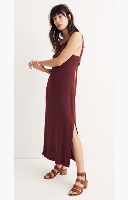 Apron Tie-Back Dress