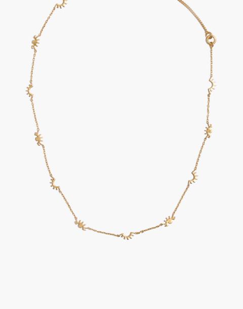 Winky Charm Necklace