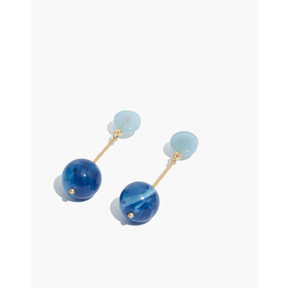 Curveball Drop Earrings