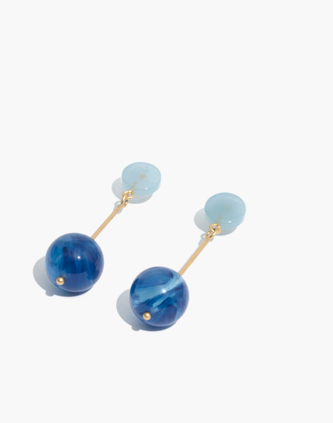 Curveball Drop Earrings