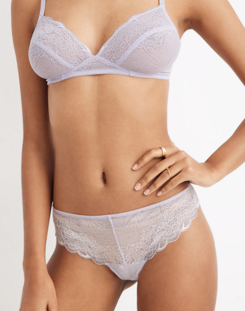 Lace Tanga in sundrenched lilac image 1
