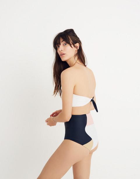 Mara Hoffman® Lydia High-Waist Bikini Bottom