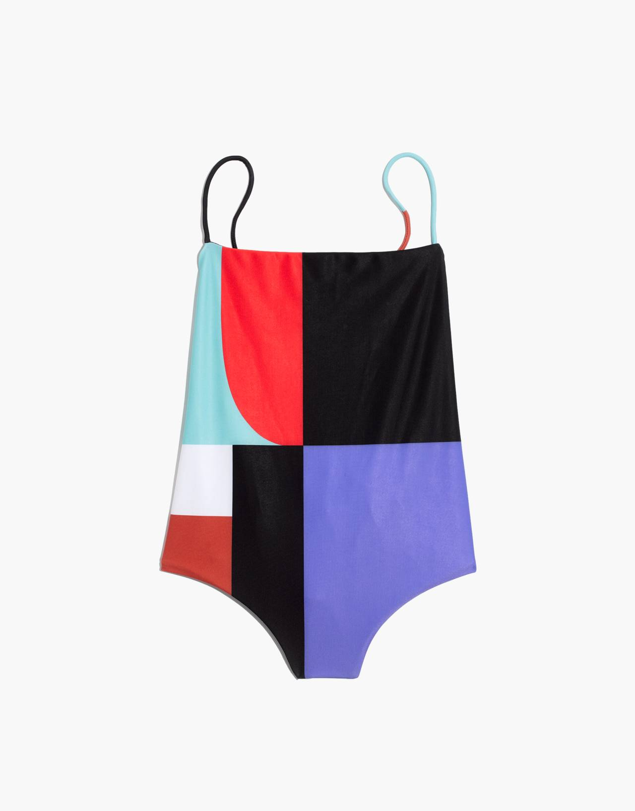 Mara Hoffman® Olympia One-Piece Swimsuit in black multi image 4