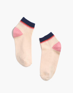 Rainbow Stripe Ankle Socks