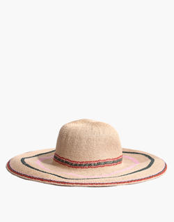 Madewell x Biltmore® Tulum Striped Straw Hat