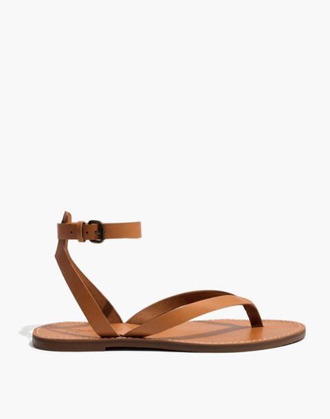 The Boardwalk Thong Sandal in desert camel image 3