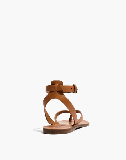 The Boardwalk Thong Sandal in desert camel image 4