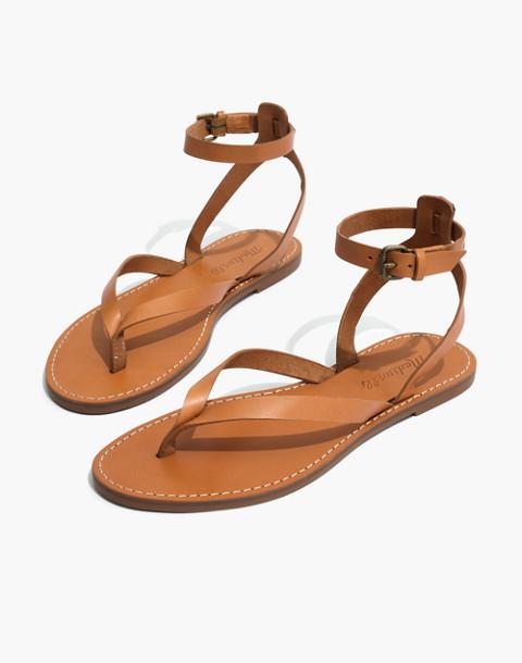 The Boardwalk Thong Sandal in desert camel image 1