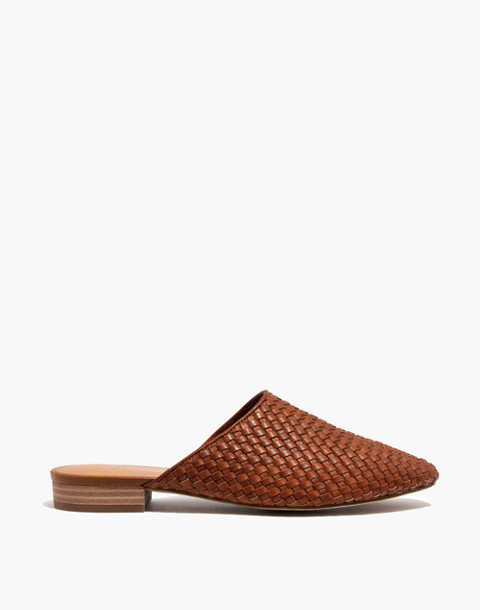 The Cassidy Woven Mule in english saddle image 2