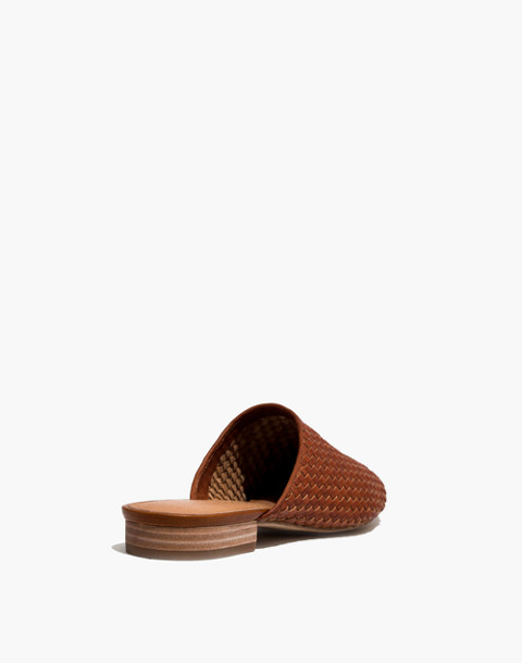 The Cassidy Woven Mule in english saddle image 3