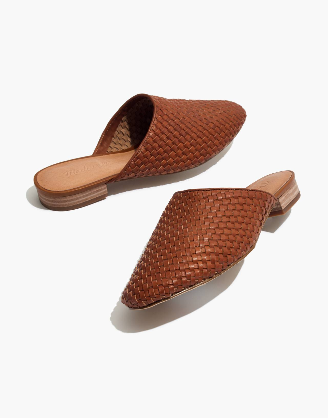 The Cassidy Woven Mule in english saddle image 1