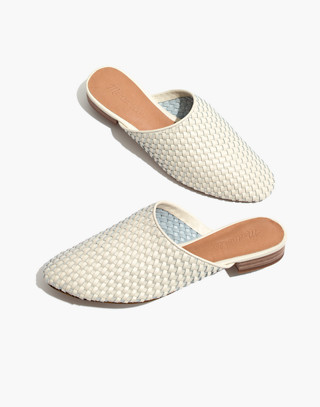 The Cassidy Woven Mule in vintage canvas image 1