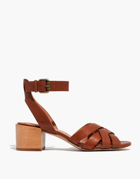 The Lucy Sandal in english saddle image 3