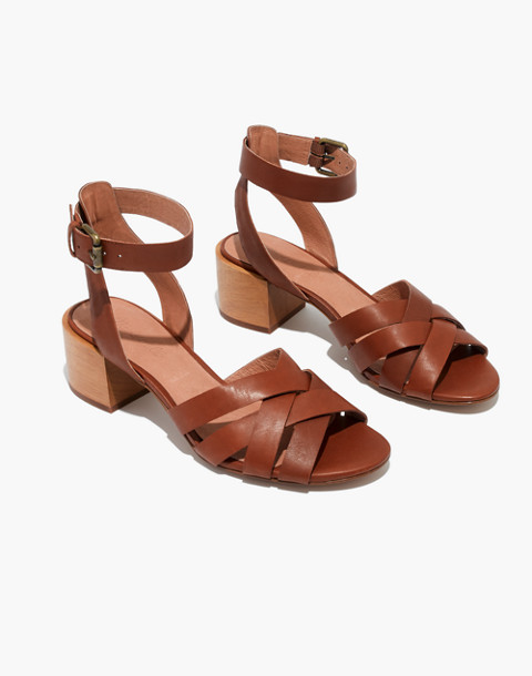 The Lucy Sandal in english saddle image 1