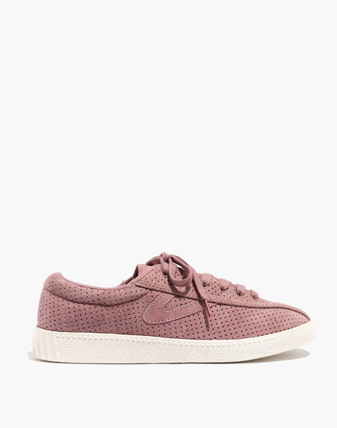 Madewell x Tretorn® Nylite Bold III Perforated Platform Sneakers in vintage mauve image 2
