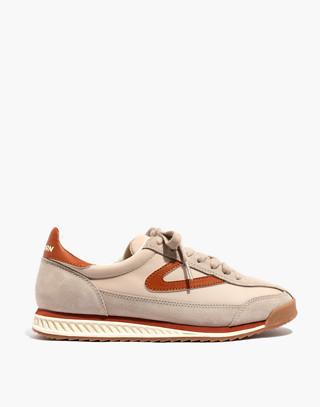 Madewell x Tretorn® Rawlins3 Sneakers in tan neutral image 3