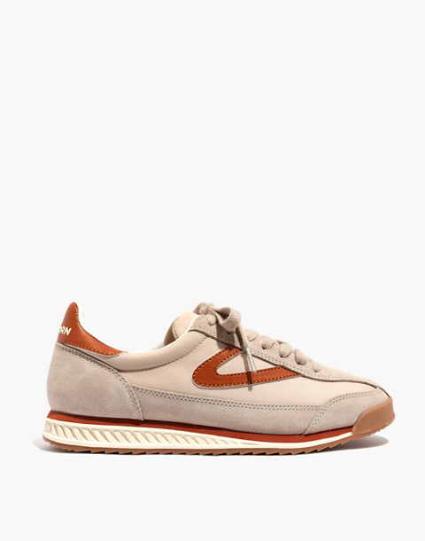 Madewell x Tretorn® Rawlins3 Sneakers in tan neutral image 3