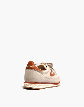 Madewell x Tretorn® Rawlins3 Sneakers in tan neutral image 4