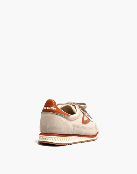 Madewell x Tretorn® Rawlins3 Sneakers in tan neutral image 4
