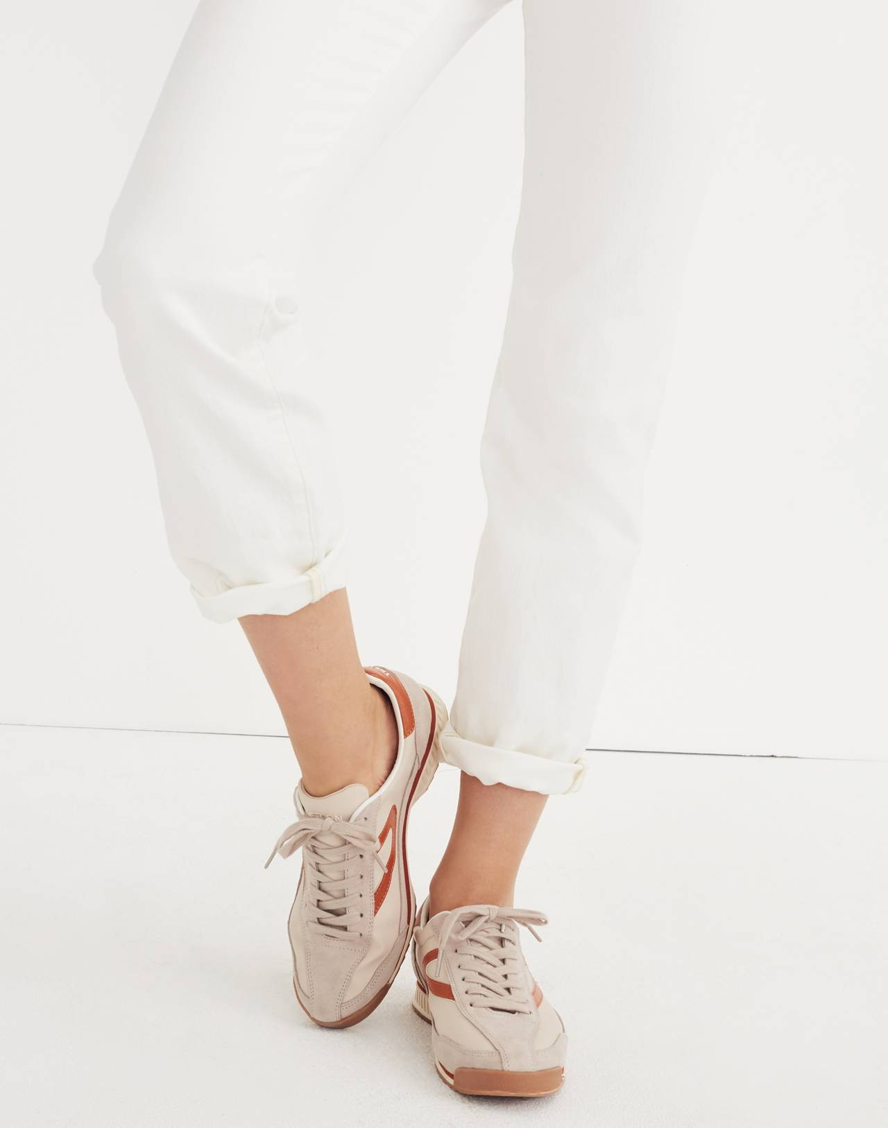 Madewell x Tretorn® Rawlins3 Sneakers in tan neutral image 2