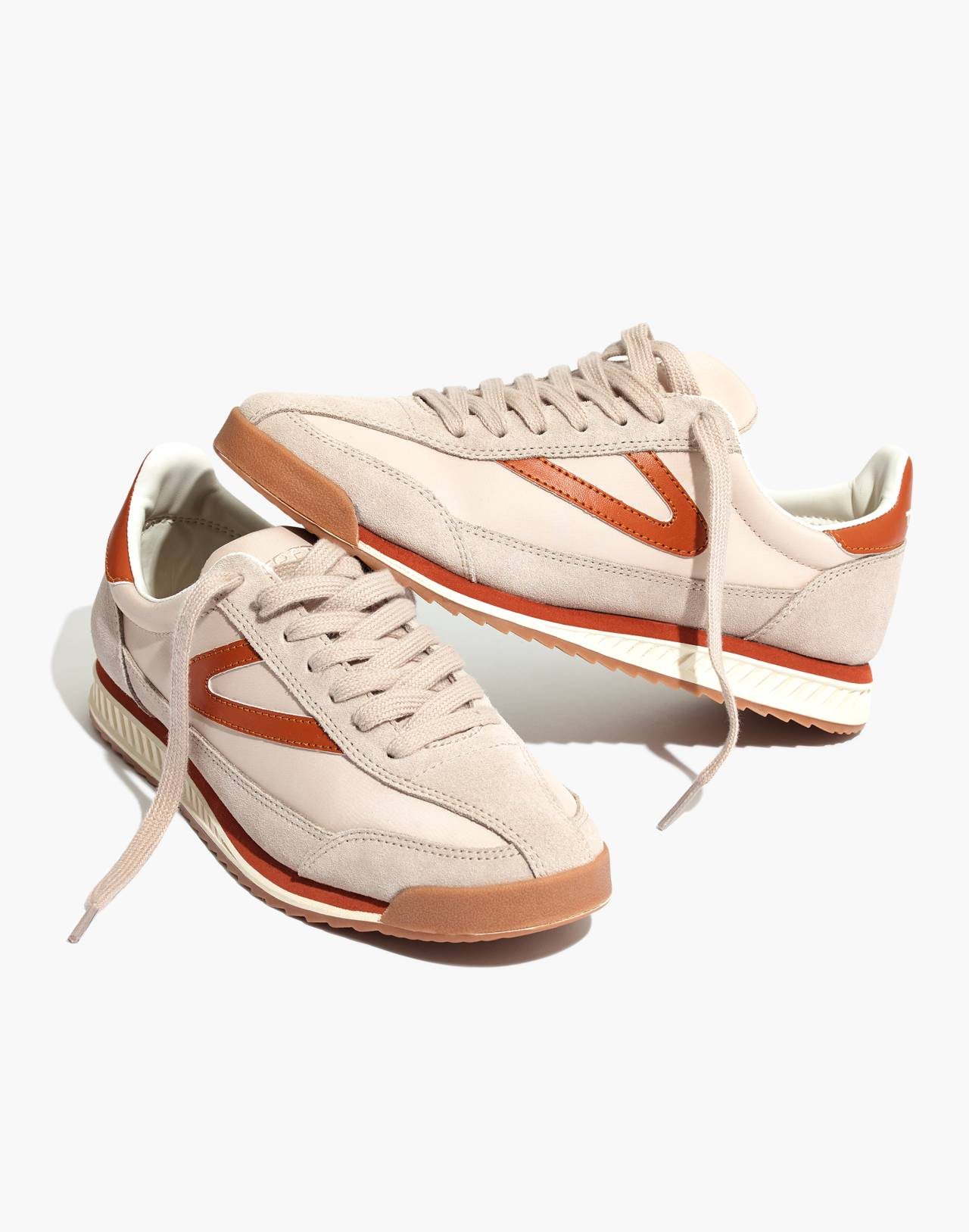Madewell x Tretorn® Rawlins3 Sneakers in tan neutral image 1