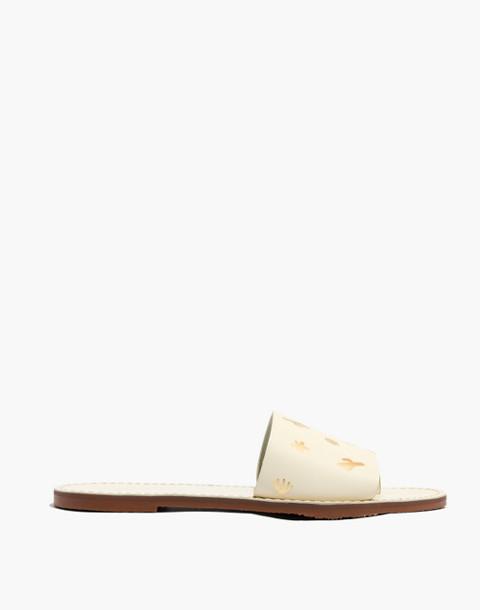 The Boardwalk Post Slide Sandal: Cactus Embossed Edition