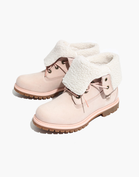 Timberland® Teddy Fleece Waterproof Fold-Down Boots