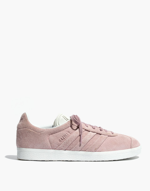 Adidas® Gazelle® Lace-Up Sneakers in Suede in pink image 3