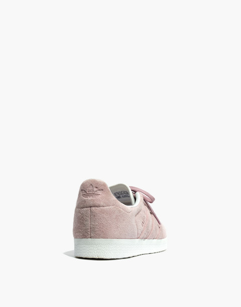 Adidas® Gazelle® Lace-Up Sneakers in Suede in pink image 4