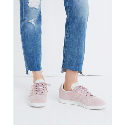 Adidas® Gazelle® Lace Up Sneakers In Suede by Madewell