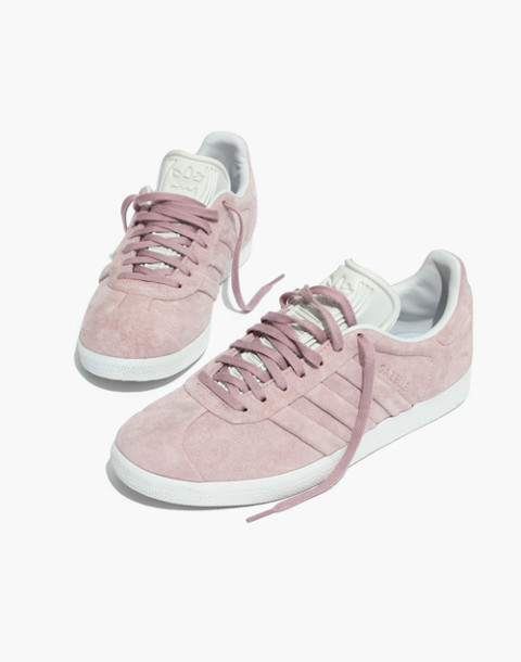 Adidas® Gazelle® Lace-Up Sneakers in Suede in pink image 1