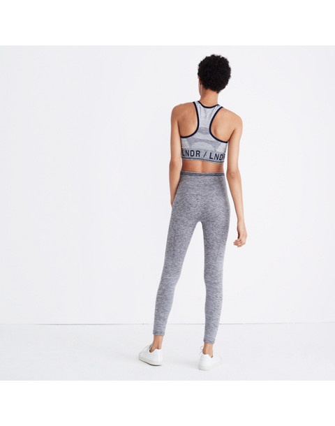 LNDR™ Seven Eight Leggings in grey marl image 2