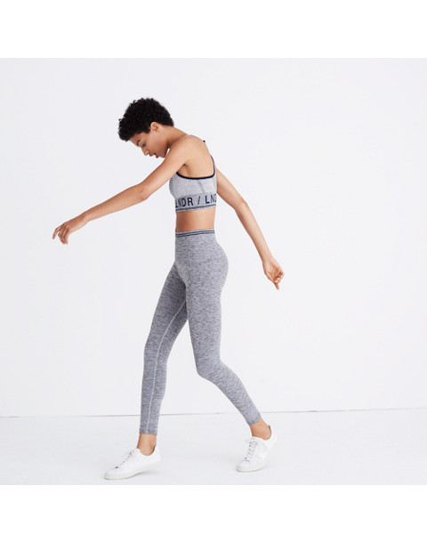 LNDR™ Seven Eight Leggings in grey marl image 3