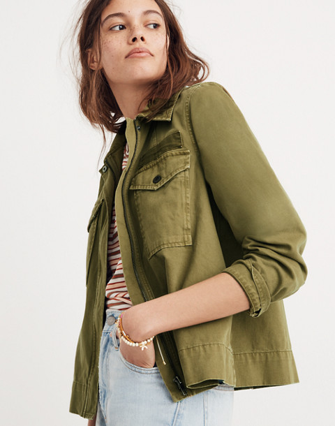 Army Swing Jacket in tundra image 3
