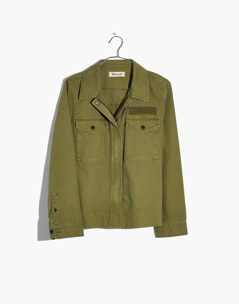 Army Swing Jacket in tundra image 4