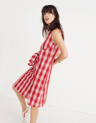 Caron Callahan™ Gingham Ada Wrap Dress