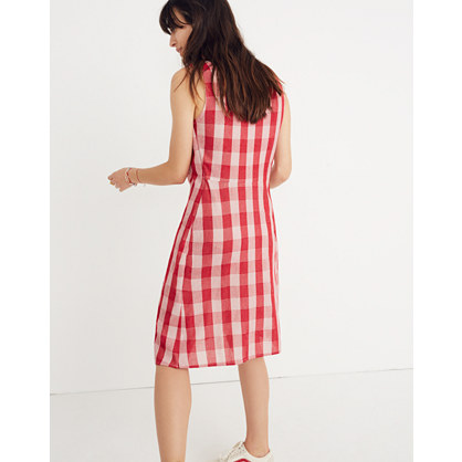 Caron Callahan™ Gingham Ada Wrap Dress by Madewell