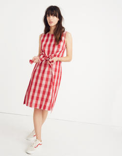 Caron Callahan™ Gingham Ada Wrap Dress