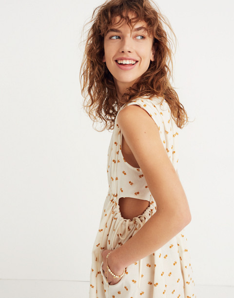 Caron Callahan™ Floral Goa Cutout Dress in embroidered floral image 2