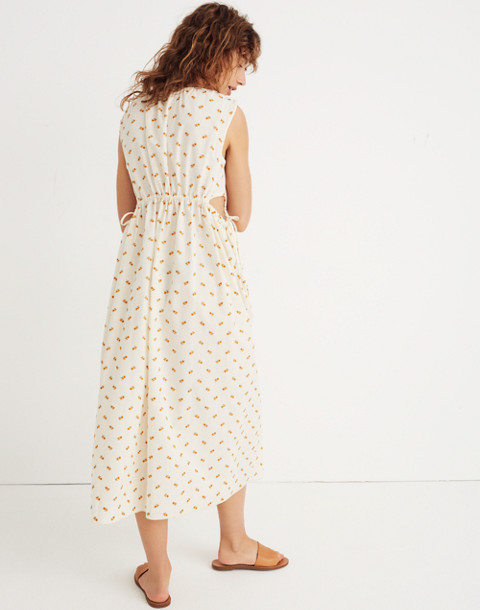 Caron Callahan™ Floral Goa Cutout Dress in embroidered floral image 3